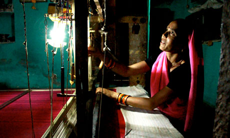 MDG : Energy NGO Teri, India&#39;s leading energy research institute solar LED lanterns