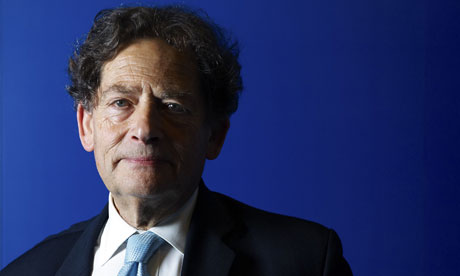 Lord Nigel Lawson at the London Stock Exchange