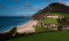 Country Diary Archive : Branscombe view from path to Beer, Devon