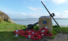 Country Diary : D-Day Memorial at Lepe Country Park