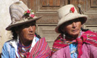 MDG : World Water day : Managing water ressources and risks in Peru Andes