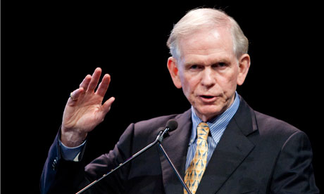 Jeremy Grantham, co-founder of GMO, speaks during the Ira Sohn Investmen Research Conference