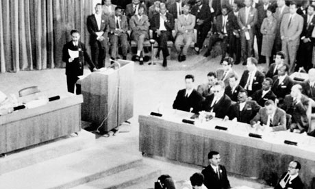 MDG : African Union 50 anniversary : AOU first conference in 1963