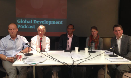 MDG Global development podcast recording