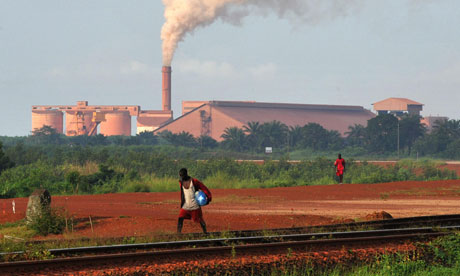 In Guinea we want our resource wealth to work for all the peoplebauxite town