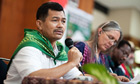 MDG : Transnational peasant movement La Via Campesina secretary general Henry Saragih