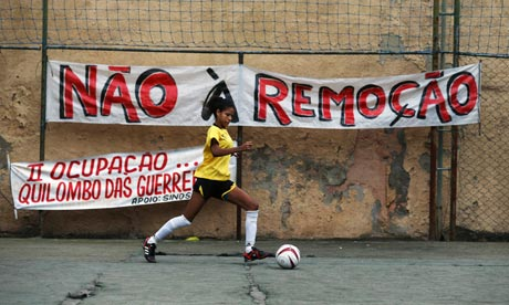 MDG : Brazil : Copa Popular soccer tournament hold against slum evictions in Rio de Janeiro