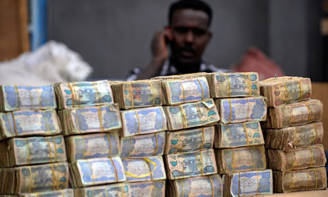 MDG : Somalia : Somali money changer
