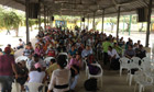 MDG : A meeting of campesinos (peasants) in Tibu, Catatumbo region, Colombia