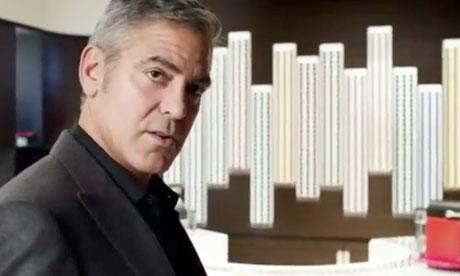 Lucy Siegle blog about Nespresso : George Clooney in Nespresso advert