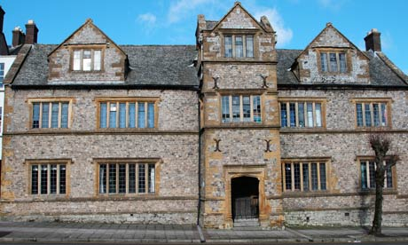 Country Diary : Chard old grammar school, Dorset