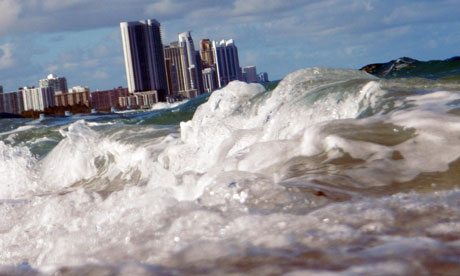 US sea levels rising : Florida Coast Line At Greatest Risk Of Rising Sea Level