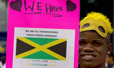 MDG : Homophobia in Jamaica : A member of Jamaica's gay community