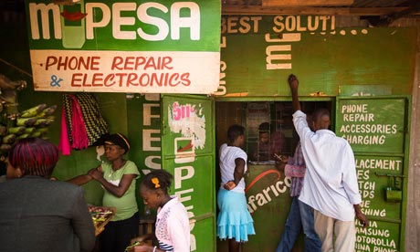 MDG : Remittance in Africa : M-Pesa mobile phone money transfer services