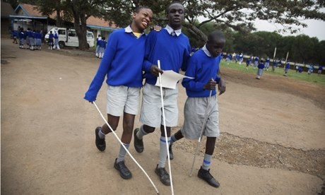 MDG : Disabled in Kenya : Society for the Blind, Nairobi