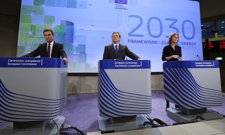 news conference on the 2030 Framework for Climate and Energy EU2030, EC headquarters, Brussels