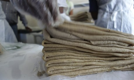 MDG : Mama Fresh Injera teff factory in Addis, Ethiopia