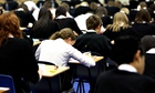 MDG : School pupils sit exams in Glasg