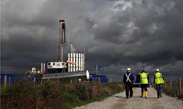 Cuadrilla Shale Fracking Plant in Preston, Lancashire.
