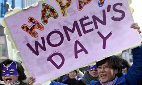 International Women's Day celebrations in Seoul