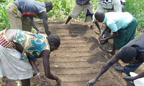 FOOD CRISIS PROMPTS SOUTH SUDAN REGGAE BAND TO SING SONGS OF FARMING!