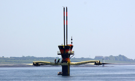 Seagen Tidal Power Marine Turbine Plugs Into Electricity