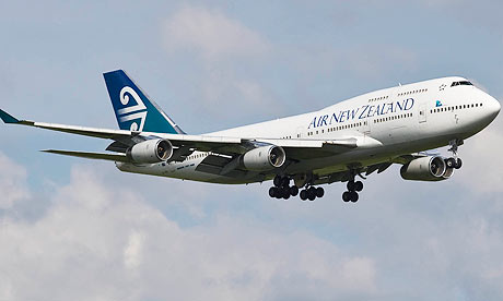 Plane   on Air New Zealand Jet Completes World S First Second Generation Biofuel