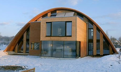 Crossway Eco Home Vaults Into The Future Environment