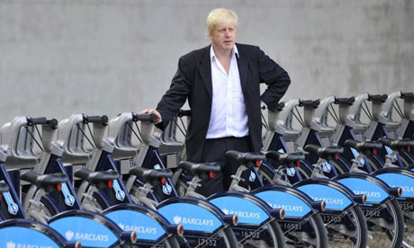 Bike blog: Boris Johnson