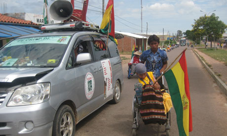 Bolivia disabled people