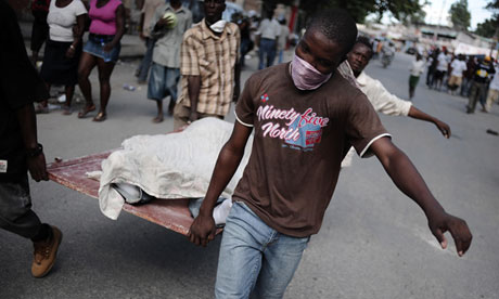 Haiti shows importance of dealing with dead bodies when disaster strikes