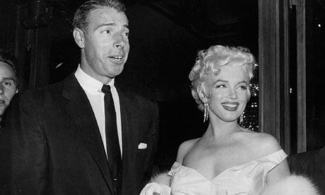 Marilyn Monroe with Joe DiMaggio, c1955