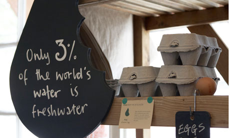Do you know the water footprint of your cafe meal?