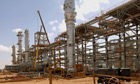 The In Amenas gas complex in eastern Algeria