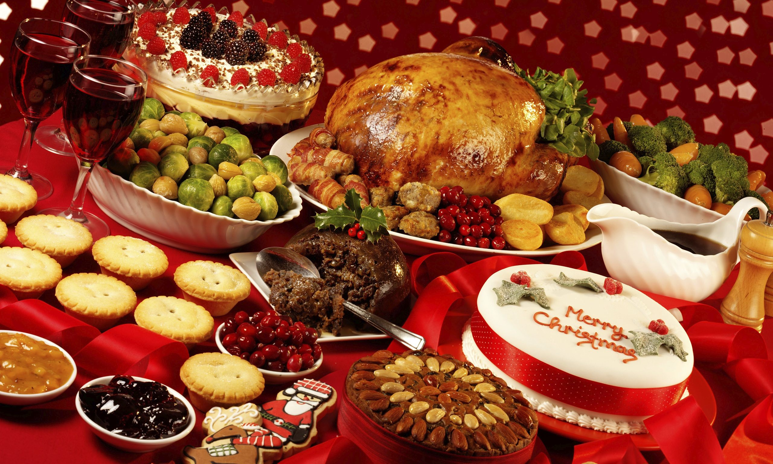 Christmas dinner ideas for a crowd for Ideas for christmas dinner