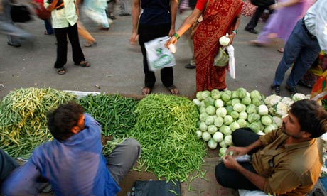 Mumbai vegetable sellers
