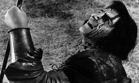 Laurence Olivier in the 1955 film of Richard III, which he directed