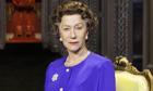 Helen Mirren as Queen Elizabeth II in the play The Audience