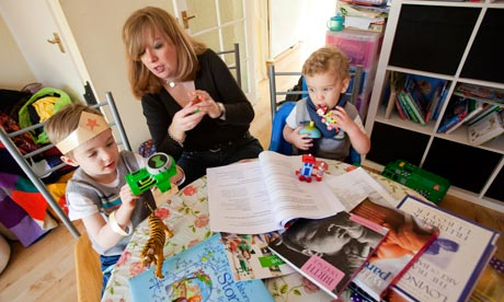 Donna Hunt, a former civil servant who has two sons, is doing a part-time teaching course
