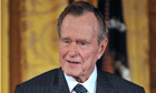 FILE: George H.W. Bush Hospitalized For Bronchitis