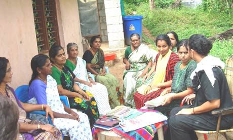 Indian women in neighbourhood groups