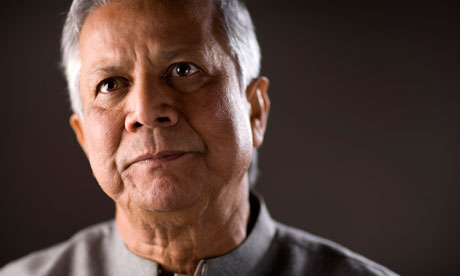 Muhammad Yunus: 'Business is a beautiful mechanism to solve problems' | Liz Ford
