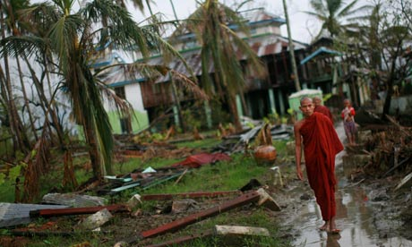 Cyclone Nargis in Burma