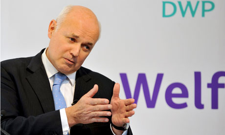 Iain Duncan Smith:  Welfare reform