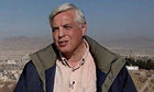 John Simpson reporting from Kabul in 2001