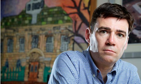 The shadow health secretary, Andy Burnham
