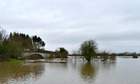 Country Diary : River Severn floods at Cressage Bridge