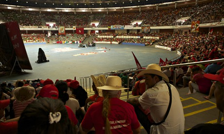 MDG :  30th anniversary of landless movement in Brazil : delegates at the MTS Congress