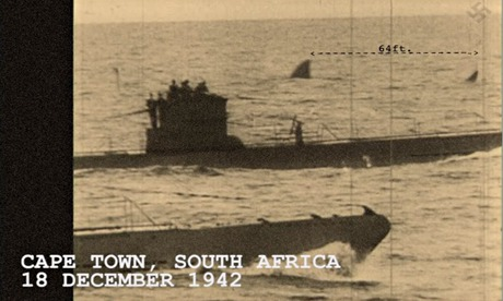 George Mombiot blog on sharks : German submarine and shark