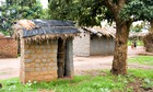MDG : Sanitation in Southern Africa : A toilet pit latrine in the village of Khoswe, Malawi
